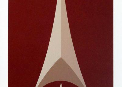 "Harmony, 30"" x 18"", 2013, edition 44, $500"