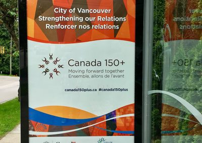 Canada 150 Plus Logo, City of Vancouver