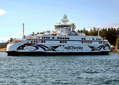 Salish Raven, 2017, Gulf Island Route, BC Ferries Corp.