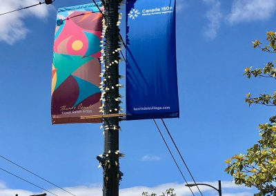 Kerrisdale Banners, 2017, Kerrisdale Business Association